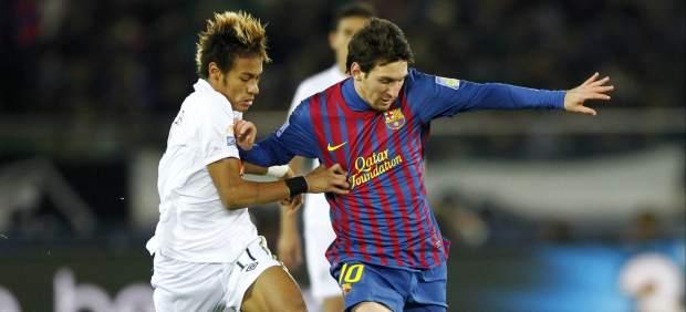 El duelo entre Neymar y Messi