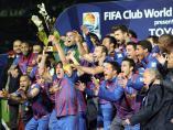 Puyol levanta la Copa del Mundialito