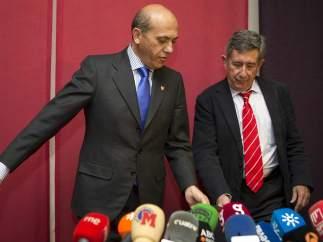 Del Nido y su abogado