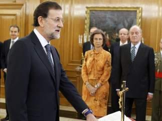 Mariano Rajoy jura su cargo de presidente