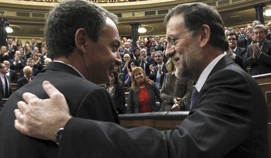 Resultado de imagen de José Luis Rodríguez Zapatero y Mariano Rajoy doñanas gas natural