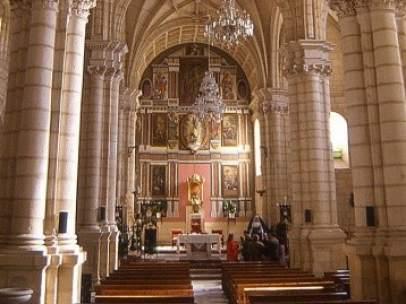 Iglesia de la Inmaculada Concepción de Huelma (Jaén).