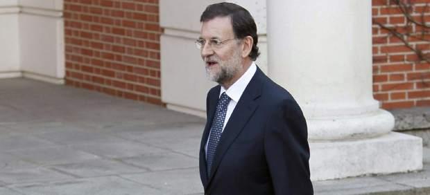 Rajoy llega a la Moncloa