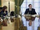 Rajoy, en consejo de ministros