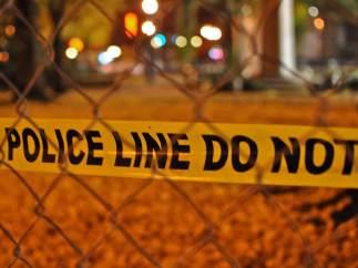Cordón policial en EE UU