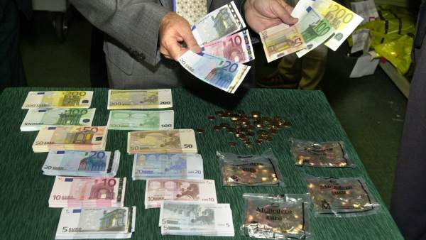 Desaparición de la peseta