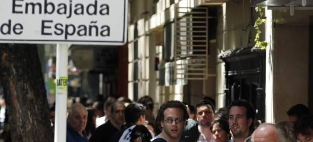 La ley de memoria hist rica permite a argentinos - Consulado argentino en madrid telefono ...