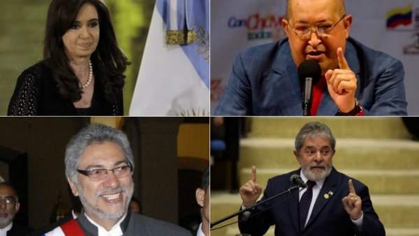 Presidentes sudaméricanos con cáncer