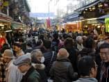 Mercado de fin de año en Tokio