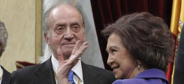 Rey Juan Carlos y do�a Sof�a
