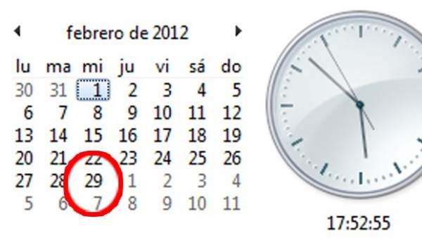 2012, año bisiesto