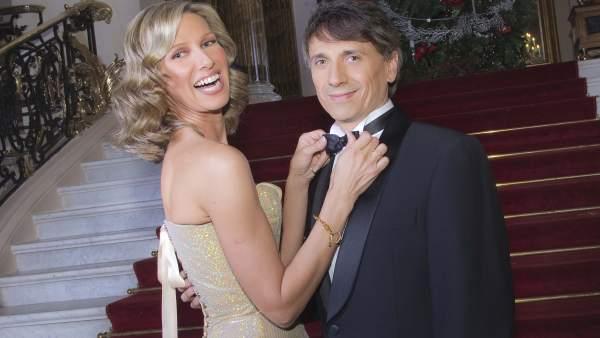 Anne Igartiburu y José Mota