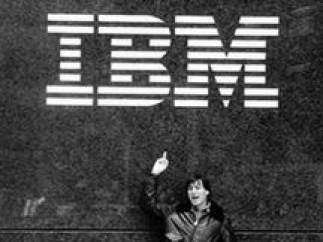 La 'peineta' de Steve Jobs a IBM