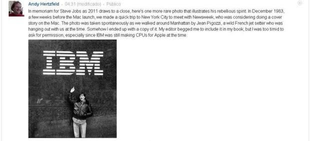 Apple se alía con su rival histórico IBM para competir en el mercado móvil
