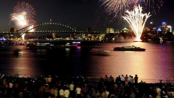 Año Nuevo en Sídney