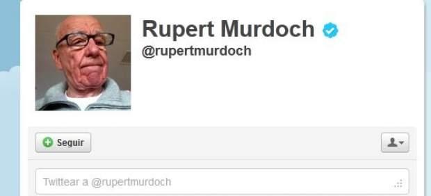 Rupert Murdoch se suma a Twitter y acumula miles de seguidores en pocas horas