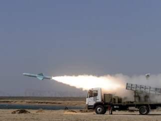 Maniobras militares en Irán