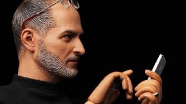 Steve Jobs... en plástico
