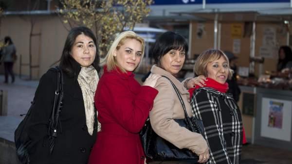 Amelia, Yeni, Ana y Dalia