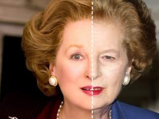 Streep y Thatcher