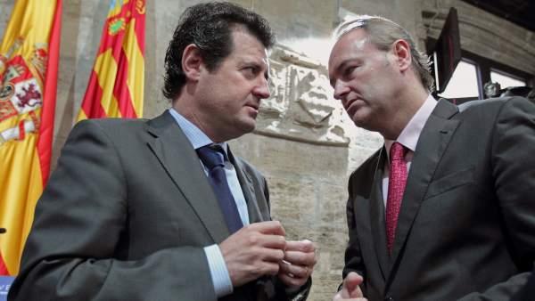 Alberto Fabra y José Ciscar