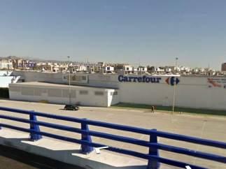 El centro comercial Carrefour Los Patios, en Málaga ciudad.