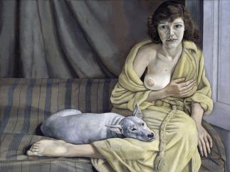 'Girl with a White Dog'