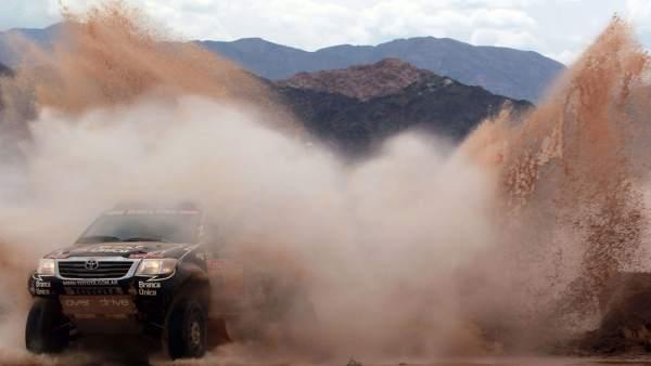 Cuarta etapa del Dakar 2012