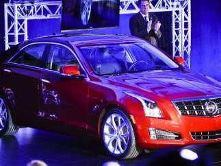 Presentación del nuevo 2013 Cadillac ATS, Detroit 2012.