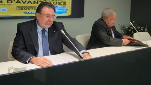 El conseller de Bienestar y Familia, Josep Lluís Cleries.