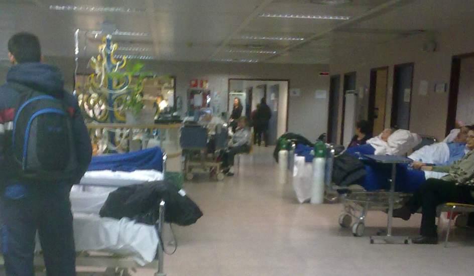 Colapso en las urgencias de los hospitales de alcorc n y for Hospital de dia madrid
