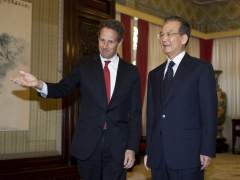 Timothy Geithner y Wen Jiabao