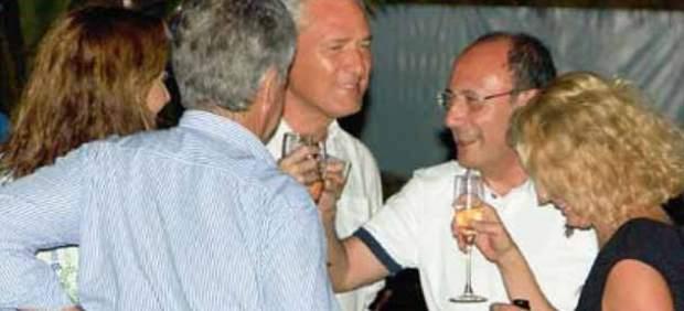 Políticos italianos de vacaciones de lujo