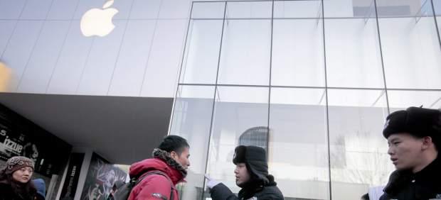 Apple suspende el lanzamiento del iPhone 4S en China debido a los tumultos