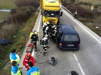 Accidente de tráfico en Colmenar Viejo