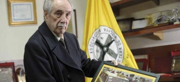 Juan Antonio Usparitza Lecumberri, fundador de la asociación de ayuda en carretera DYA
