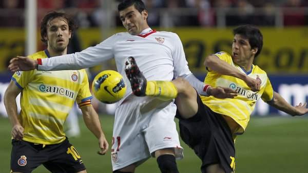 Reyes ante el Espanyol