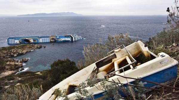 Vista desde la isla de Giglio