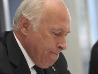 El presidente y consejero delegado de la compañía naviera Costa Cruceros, Pier Luigi Foschi.