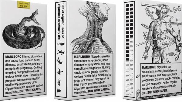 Propone a las tabaqueras aceptar el diseño de las cajetillas con ...