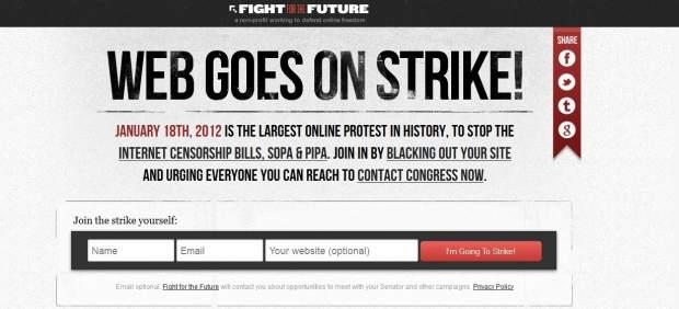 Un grupo de legisladores de EE UU abandonan la ley antipiratería tras la protesta en Internet