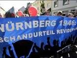 Manifestación de nazis y neonazis en Dortmund