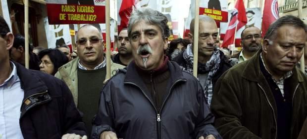 Protesta contra la reforma laboral en Portugal
