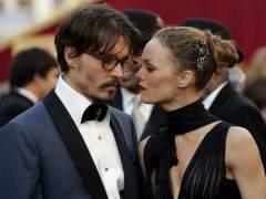 Johnny Depp y Vanessa Paradis