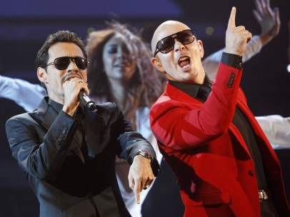 Pitbull y Marc Anthony