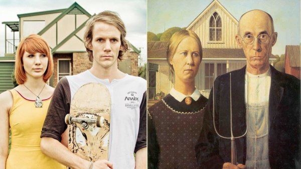 'American Gothic'