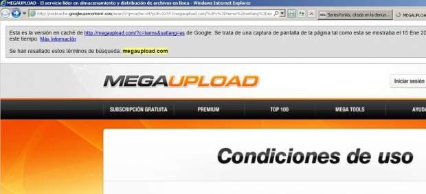 España, líder mundial en búsquedas relacionadas con Megaupload
