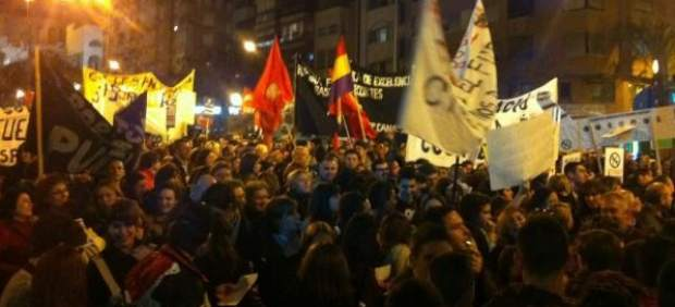 Manifestación en Alicante