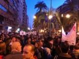 Marcha histórica en Alicante