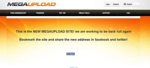 Megaupload falso
